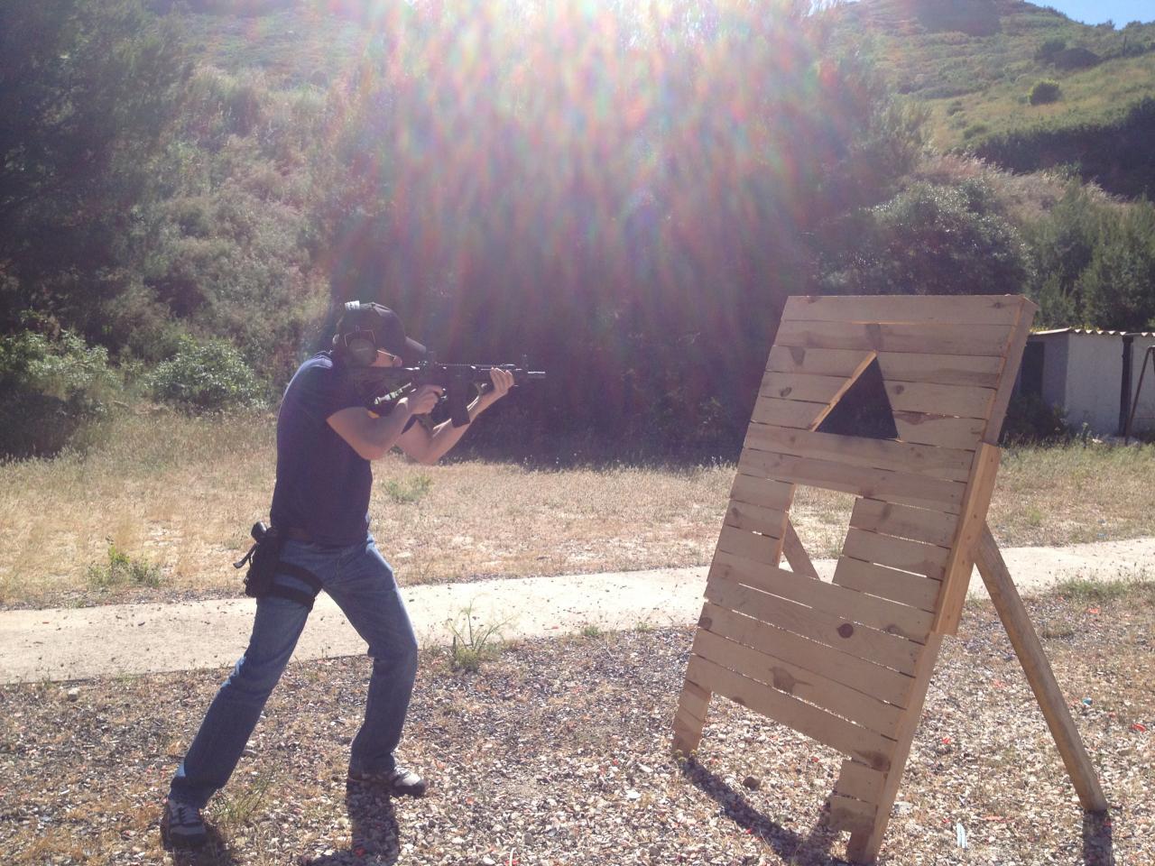 tir à couvert au Fusil